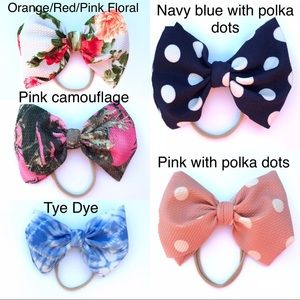 Bows on Nylon Bands